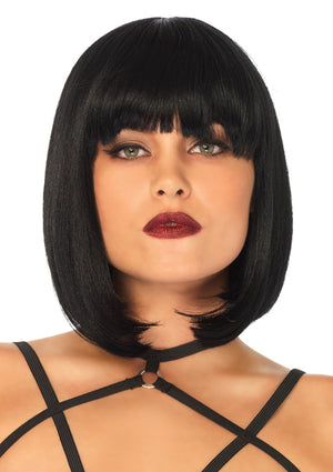 Short Natural Bob Wig - PartyExperts