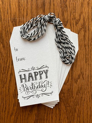 Paper Source Happy Birthday Gift Tags