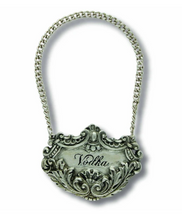 Load image into Gallery viewer, Vagabond Pewter Medici Liquor Decanter Tag