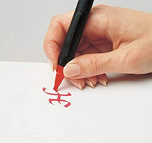 Load image into Gallery viewer, Marvy Calligraphy Marker - Red