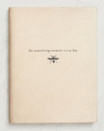 Paper Source Do Something Creative Gold Notebook