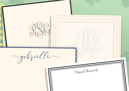 Personalized Stationery - Embossed Graphics