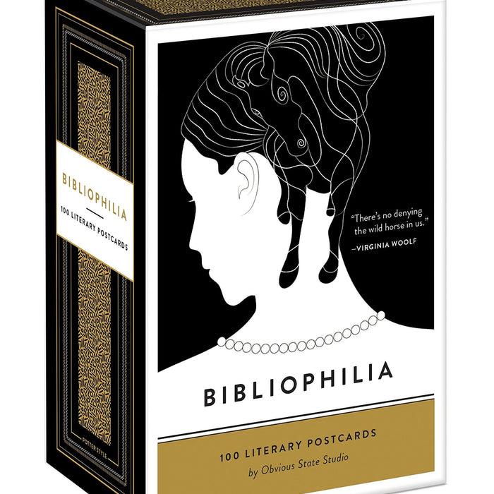 Penguin Random House: Bibliophilia Postcard Set