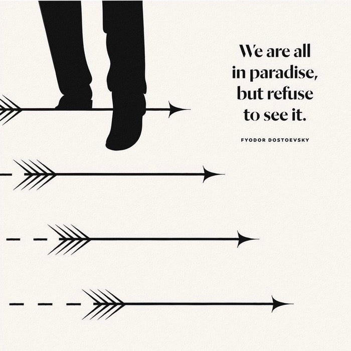 We are all in paradise
