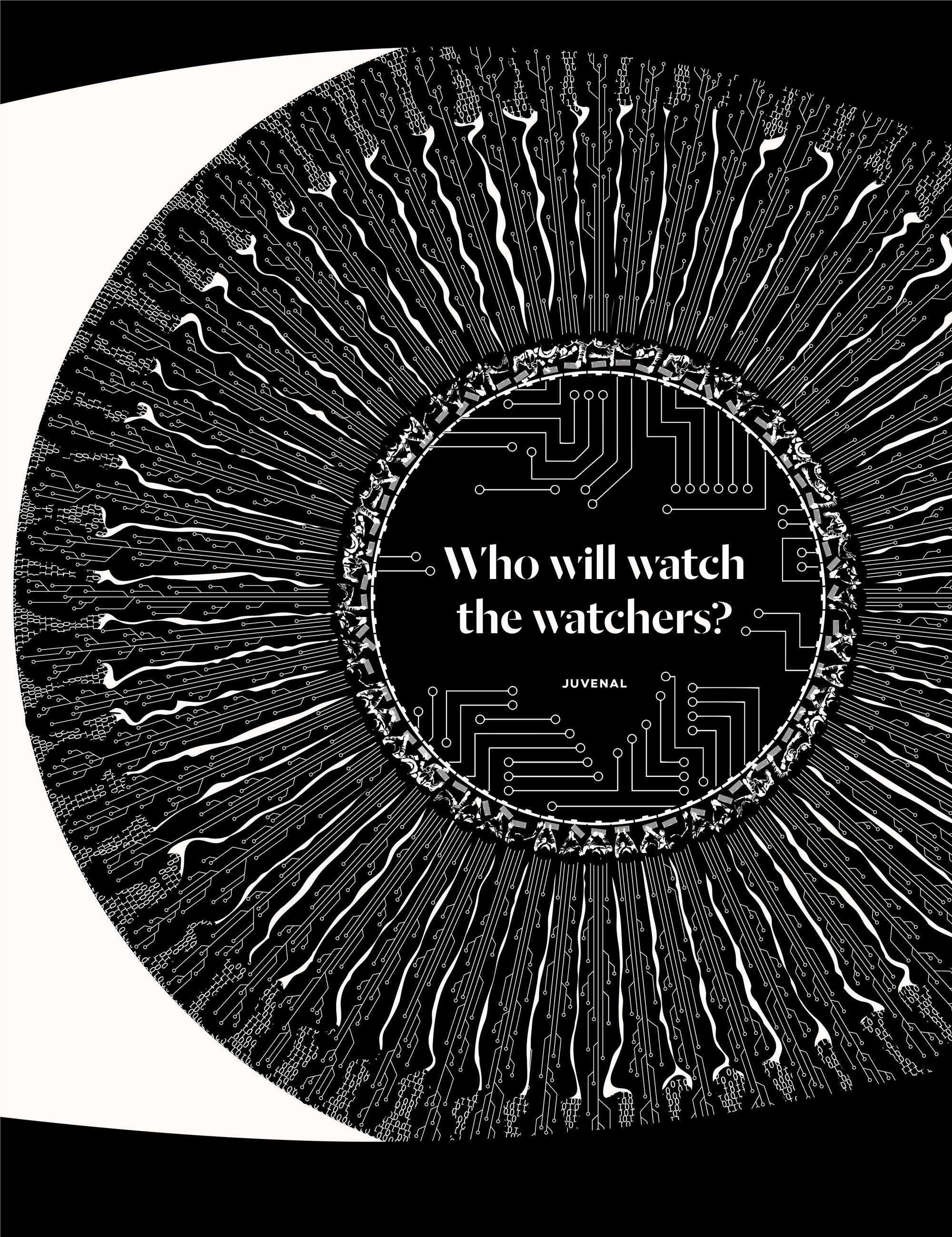 Juvenal Who Will Watch the Watchers Obvious State Illustration