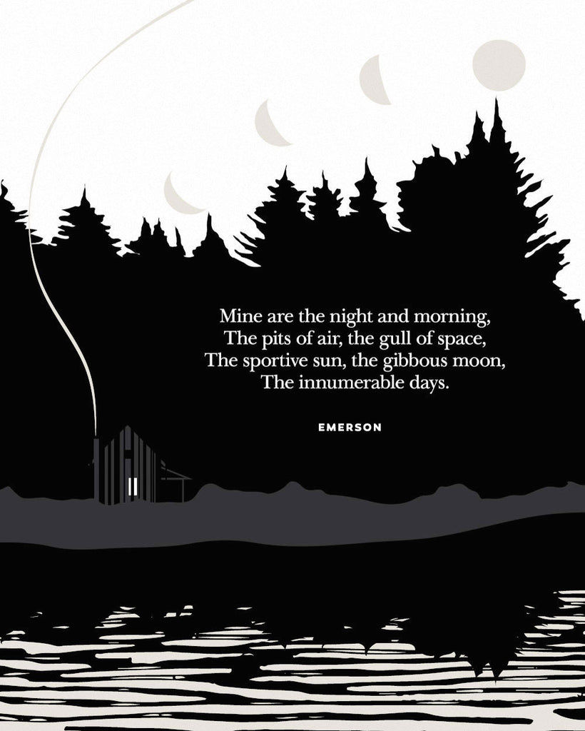 Song of Nature by Ralph Waldo Emerson, Illustrated Quote by Obvious State