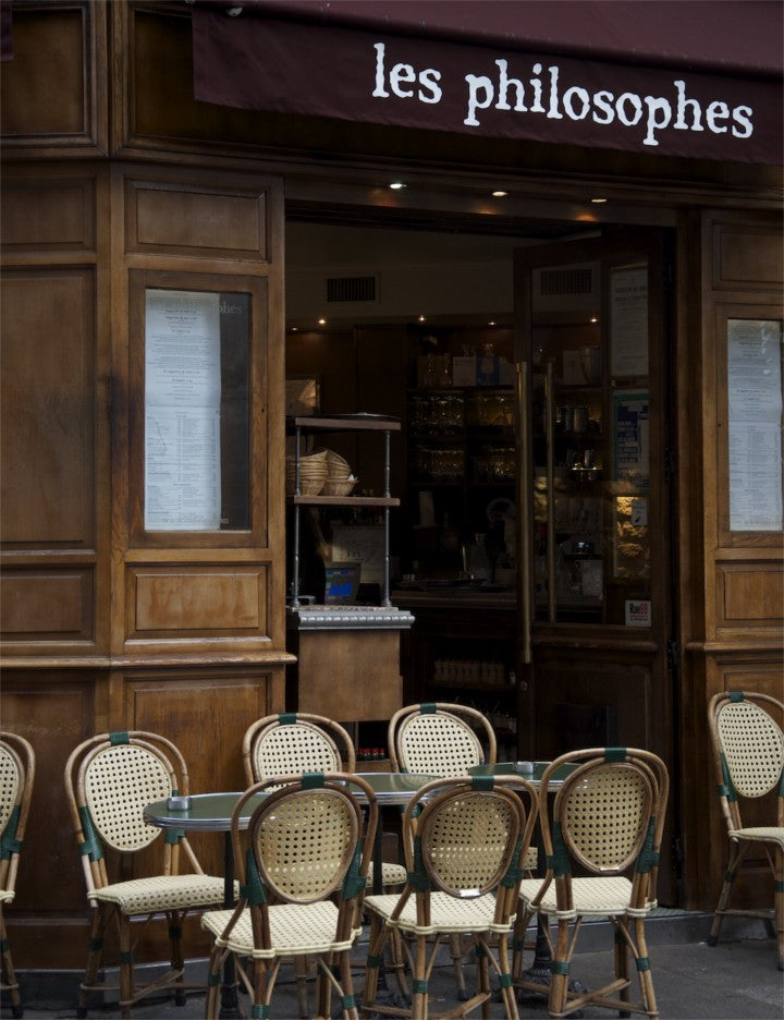Paris Cafe Photo, Nichole Robertson