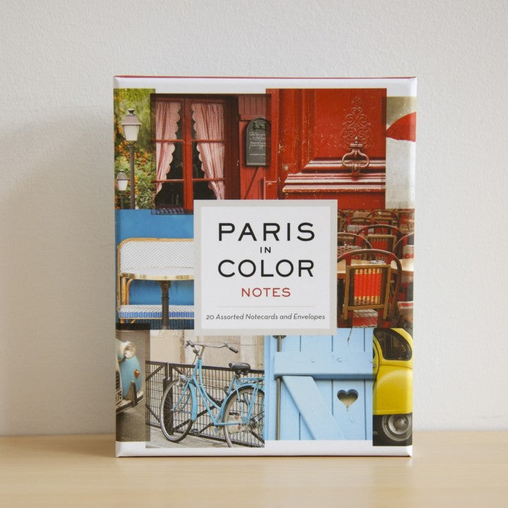 Paris in Color Notes, Nichole Robertson, Author of Paris in Color