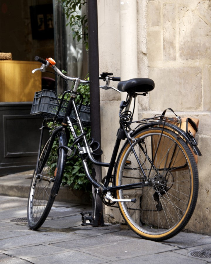 Paris Bike Photo, Paris Photography, Nichole Robertson