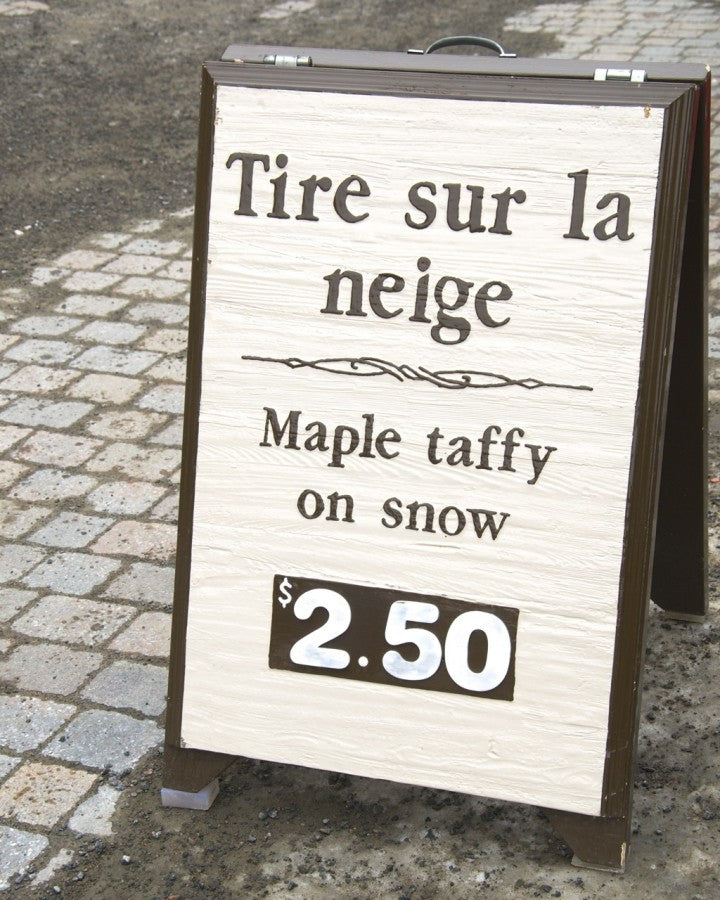 Mont Tremblant Maple Taffy on Snow, Nichole Robertson