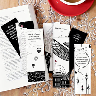 Women Writers Bookmark Set -