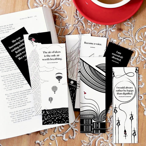 Women Writers Bookmark Set