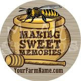 Bees/Honey Stickers