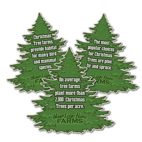 Christmas Tree Fact Signs (set of 5 facts)