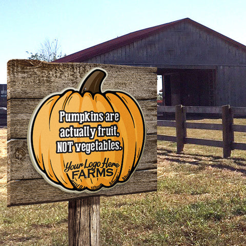 Pumpkin Fact Signs (set of 5 facts)