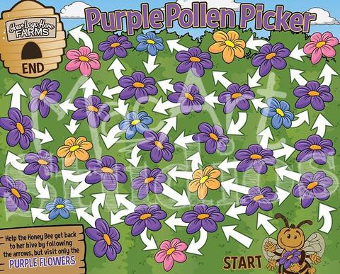 Purple Pollen Picker
