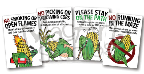 Download: - Corn Character Maze Rules (4 pack)