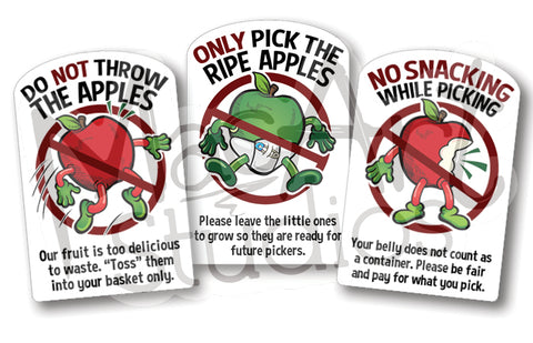 Download:  Apple 'Pick-Your-Own' Rules (3 designs)