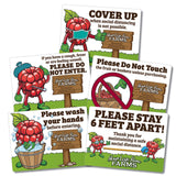 Public Health Guidelines (set of 5) -  U-Pick