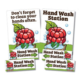 Hand Washing Set -  Berry Picking