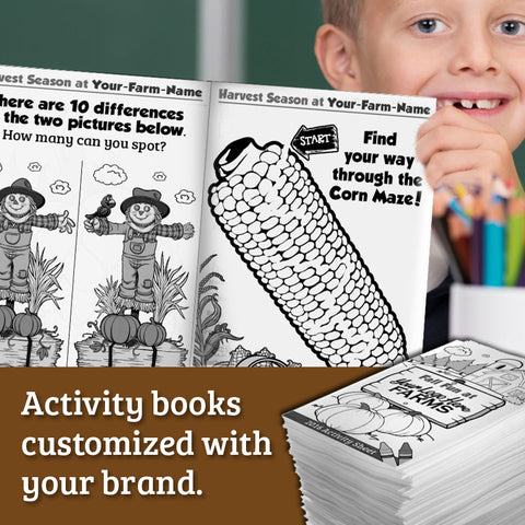 Activity Books - Downloadable File