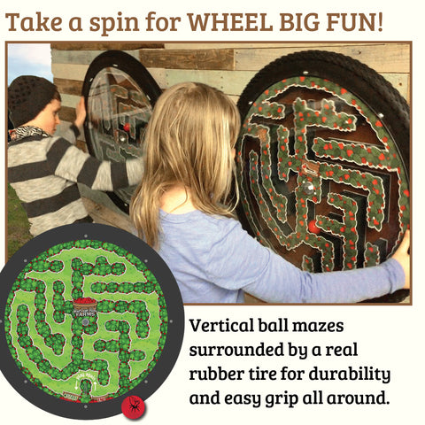 Wheel Fun Berry Maze