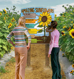 Amazing Sunflowers - educational panel
