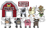 Download: Barnyard 'Croquet' Set