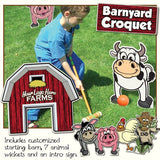 Barnyard 'Croquet' Set