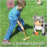 BYOB- Barnyard 'Croquet' Set (on printed Vinyl)