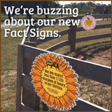 BYOB- Fact Signs (set of 5 facts on printed Vinyl)