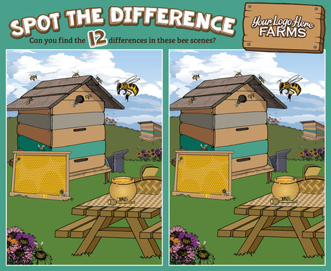 *NEW: Bees & Honey - Spot the Difference