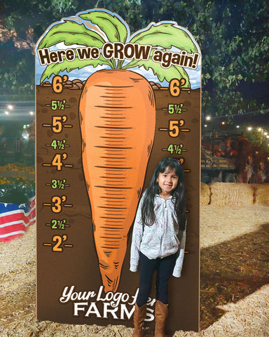 How Tall This Year? Giant Carrot