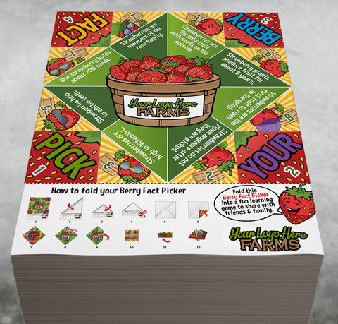 Berry Fact Pickers (foldable take-home)