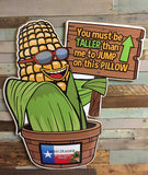 'Must be this Tall' to ride (CORN)