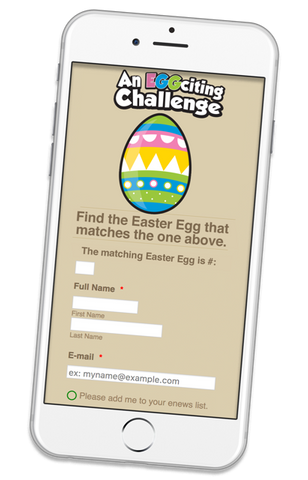 Egg-Citing Challenge - Add-on: Mobile Data Form