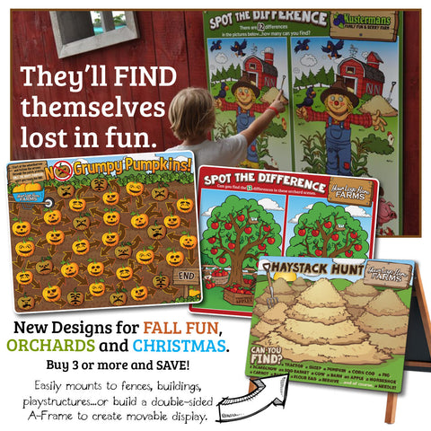 Pumpkin/Fall GameBoards®