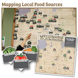 Local Food Source Area Maps and Magnets