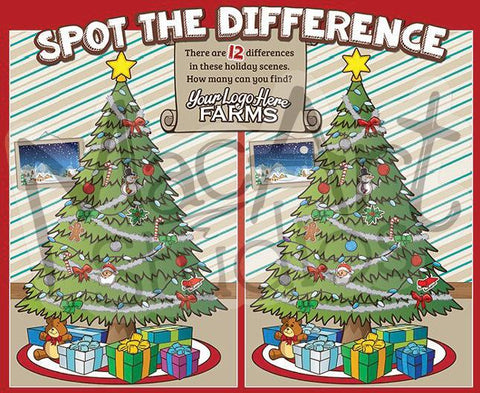 Christmas Tree - Spot the Difference