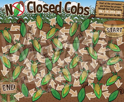 No Closed Cobs (Corn)