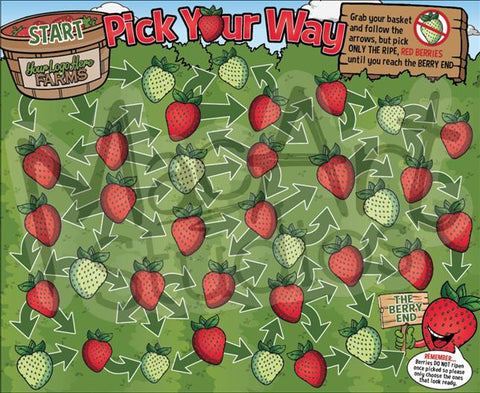 Pick Your Way - Strawberries