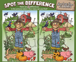 Scarecrows - Spot the Difference
