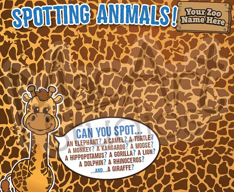 Copy of Spotting Animals - Giraffe