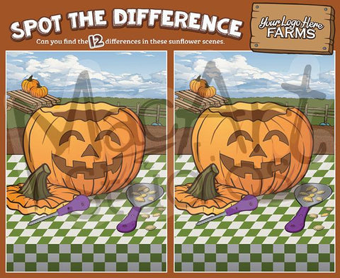 Pumpkins - Spot the Difference