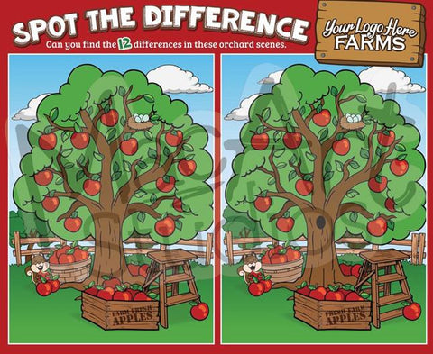 Apple Trees - Spot the Difference