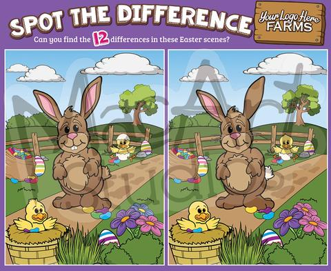 Easter Bunny - Spot the Difference