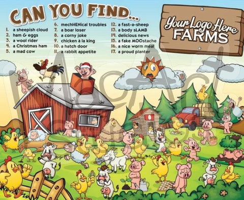 Can You Find? Farm Animals