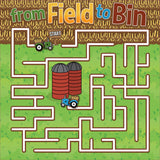 Field to Bin - Channel Maze