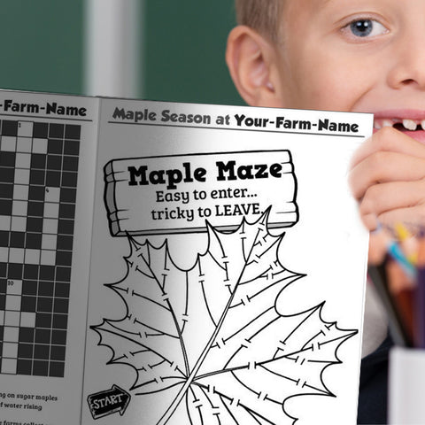 Maple Activity Booklets