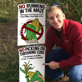 Corn Character Maze Rules